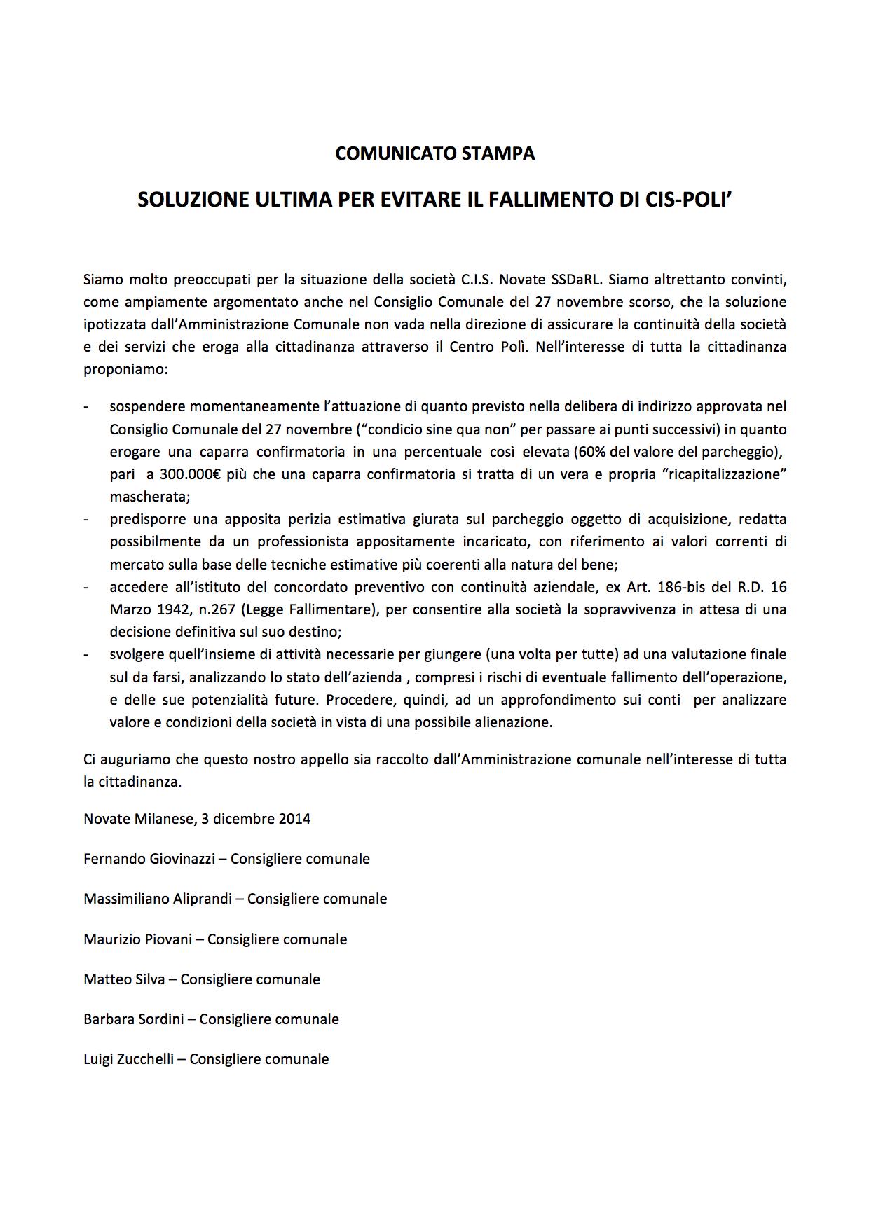 Centro Poli Novate.Novate Al Centro Lista Civica Per Novate Milanese Poli